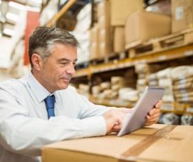Intelligent logistics management Stock Photo 03