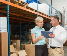 Intelligent logistics management Stock Photo 04