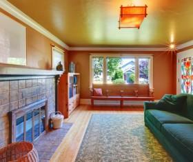 Interior wooden furniture decoration Stock Photo 04