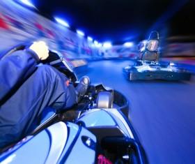 Kart Race Racer Stock Photo 02