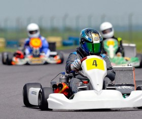 Kart Race Racer Stock Photo 04