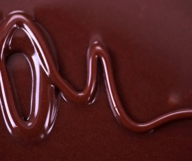Liquid Chocolate Textures Stock Photo 13