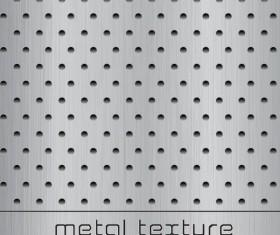 Metal texture art background design vector