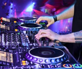 Nightclub DJ Stock Photo 01