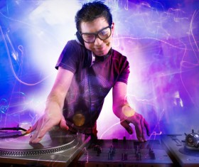 Nightclub DJ Stock Photo 02