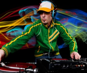 Nightclub DJ Stock Photo 03