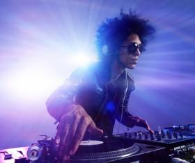 Nightclub DJ Stock Photo 05