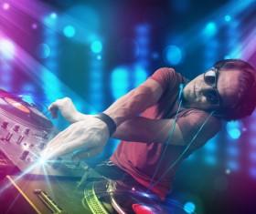 Nightclub DJ Stock Photo 06