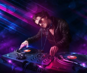 Nightclub DJ Stock Photo 07