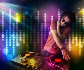 Nightclub DJ Stock Photo 08