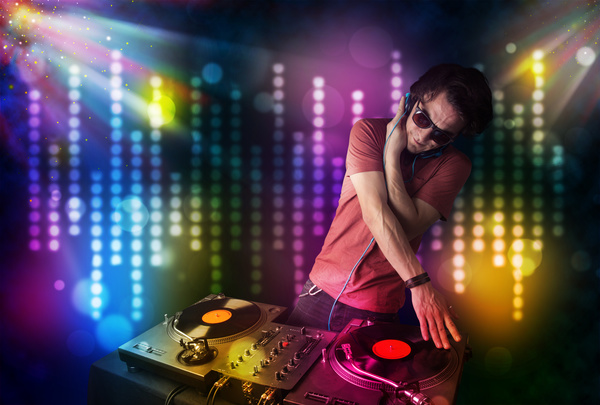 Nightclub DJ Stock Photo 08
