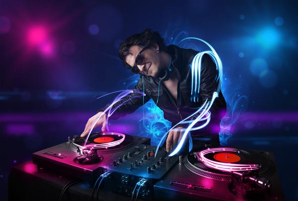 Nightclub DJ Stock Photo 09