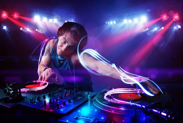 Nightclub DJ Stock Photo 10