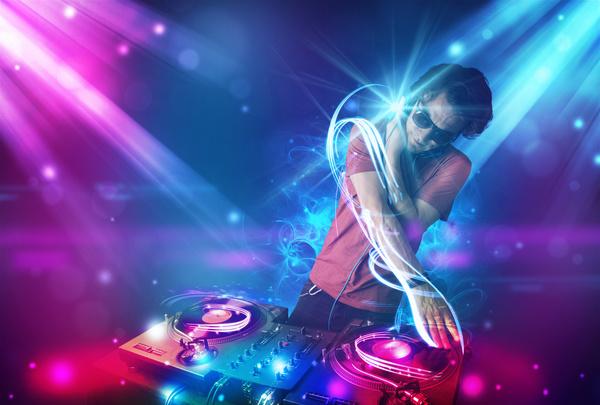 Nightclub DJ Stock Photo 11