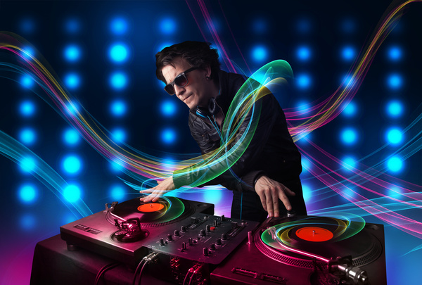 Nightclub DJ Stock Photo 12