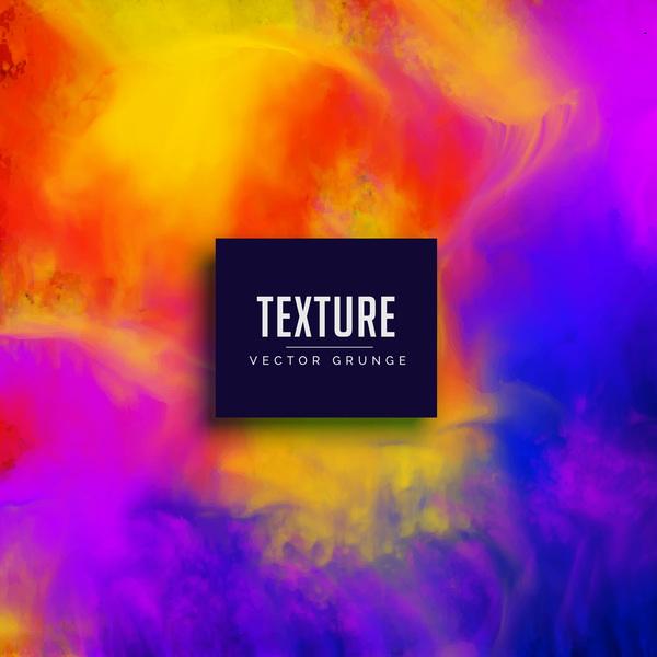 Paint texture grunge background vectors 04