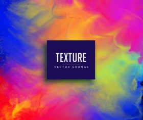 Paint texture grunge background vectors 06