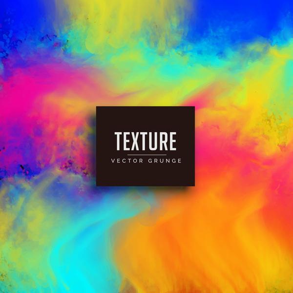 Paint texture grunge background vectors 07