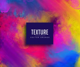 Paint texture grunge background vectors 08