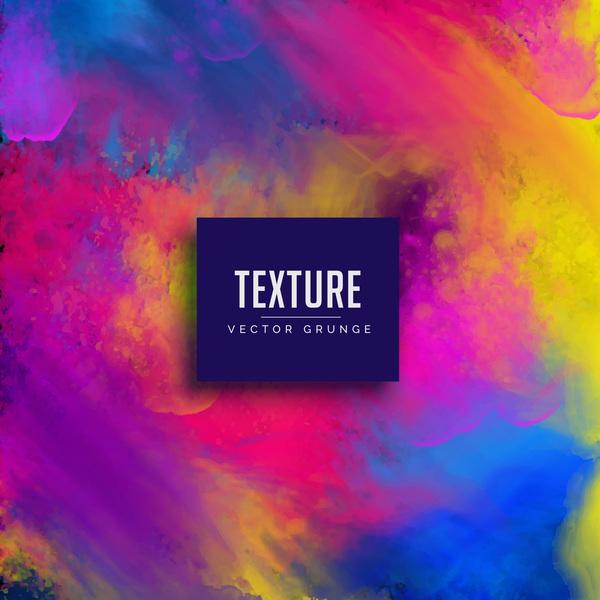 Paint texture grunge background vectors 08