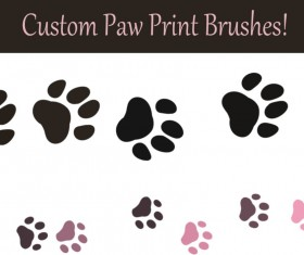 Paw Photoshop Brushes