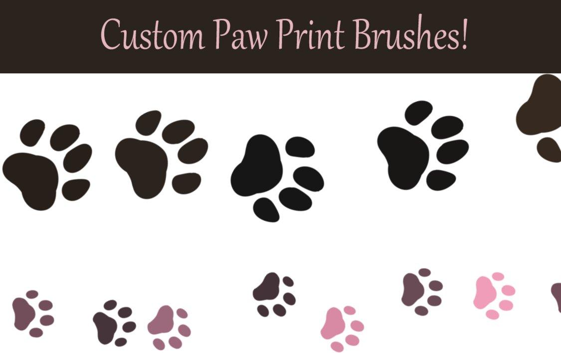 Paw Photoshop Brushes