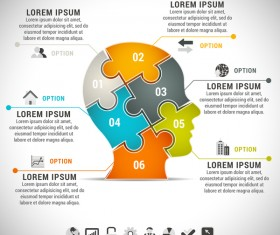 Pizzle modern infographic template vector 19