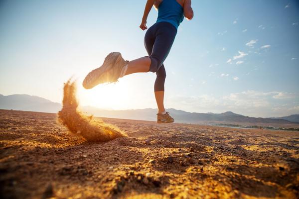 Run on the beach Stock Photo 04