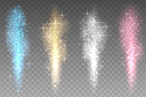 Shiny light beam illustration vector 01
