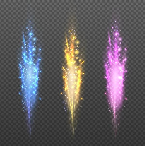 Shiny light beam illustration vector 02