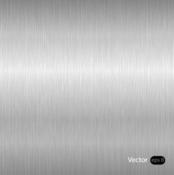 Silver texture effect metal background vector 01