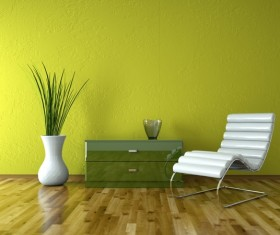 Simple furnishings Stock Photo