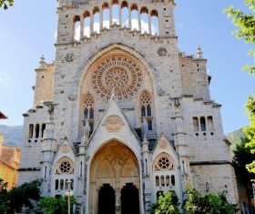 Spain Mallorca Cathedral Stock Photo