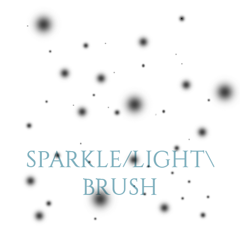 Sparkle with Lights Photoshop Brushes