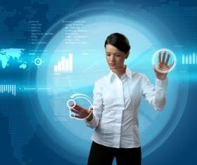 Technology future development trend Stock Photo 01