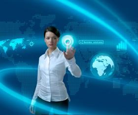 Technology future development trend Stock Photo 02