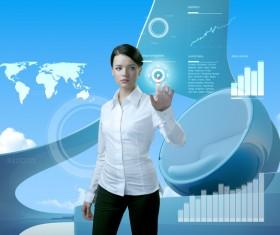 Technology future development trend Stock Photo 03