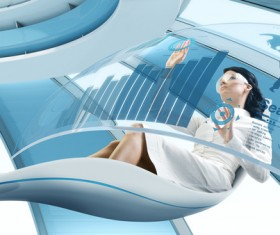 Technology future development trend Stock Photo 08