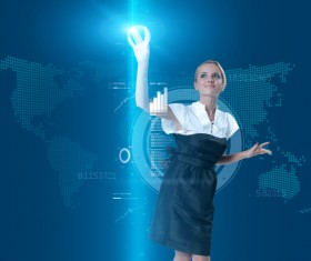Technology future development trend Stock Photo 12