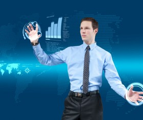Technology future development trend Stock Photo 16
