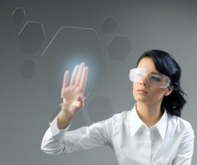 Technology future development trend Stock Photo 26