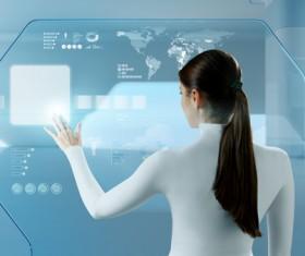 Technology future development trend Stock Photo 28