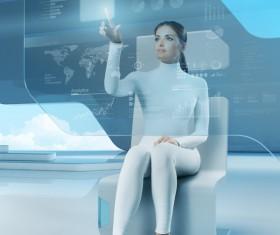 Technology future development trend Stock Photo 30