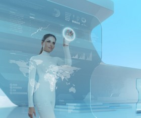 Technology future development trend Stock Photo 32