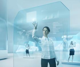 Technology future development trend Stock Photo 34