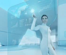 Technology future development trend Stock Photo 35