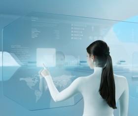 Technology future development trend Stock Photo 36