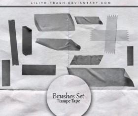 Tissape Tape Photoshop Brushes