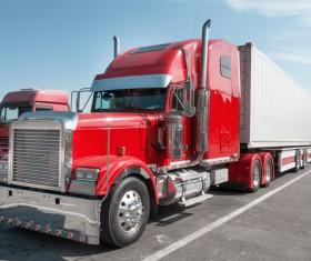 Truck Freight Transport Logistics Stock Photo 01