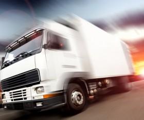 Truck Freight Transport Logistics Stock Photo 02